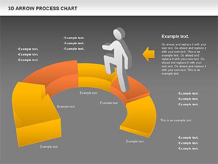 Career Steps Diagram, Slide 12, 01137, Stage Diagrams — PoweredTemplate.com
