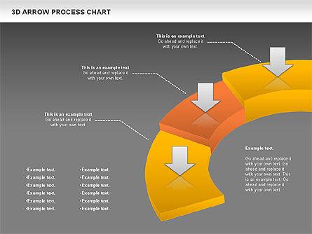 Career Steps Diagram, Slide 13, 01137, Stage Diagrams — PoweredTemplate.com