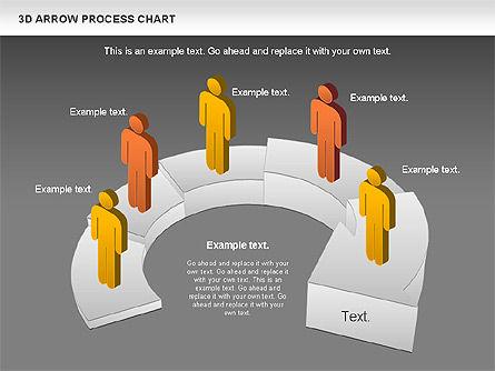 Career Steps Diagram, Slide 16, 01137, Stage Diagrams — PoweredTemplate.com