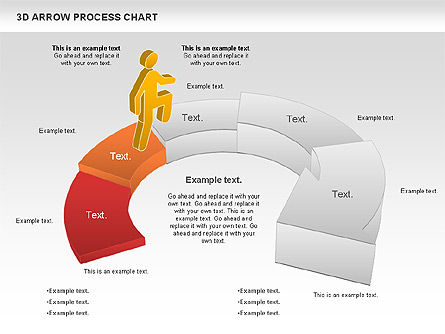 Career Steps Diagram, Slide 4, 01137, Stage Diagrams — PoweredTemplate.com