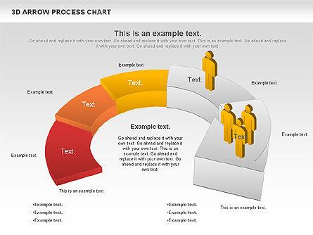 Career Steps Diagram, Slide 5, 01137, Stage Diagrams — PoweredTemplate.com