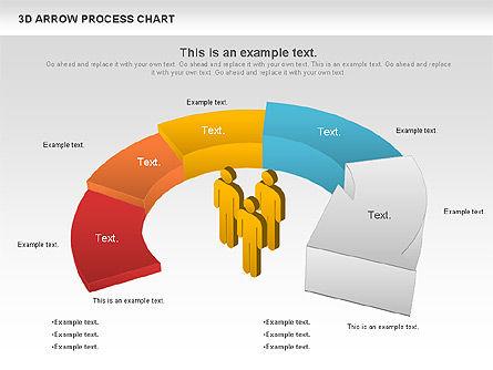 Career Steps Diagram, Slide 6, 01137, Stage Diagrams — PoweredTemplate.com