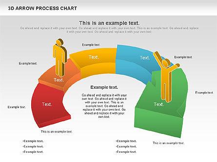 Career Steps Diagram, Slide 7, 01137, Stage Diagrams — PoweredTemplate.com
