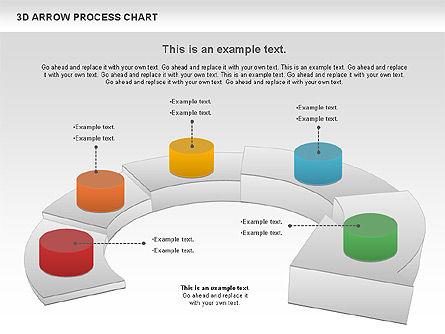 Career Steps Diagram, Slide 9, 01137, Stage Diagrams — PoweredTemplate.com