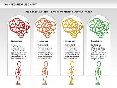 People Chat Shapes, Slide 11, 01139, Shapes — PoweredTemplate.com
