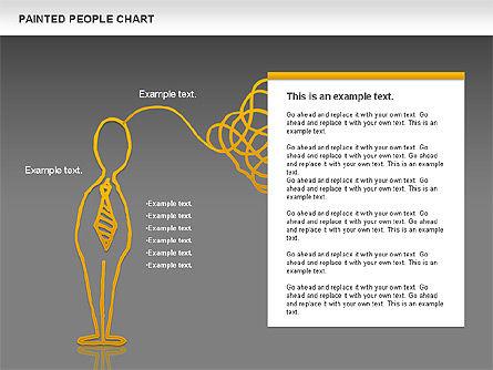 People Chat Shapes, Slide 16, 01139, Shapes — PoweredTemplate.com