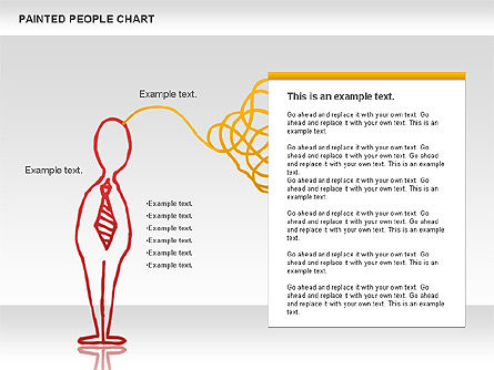 People Chat Shapes, Slide 5, 01139, Shapes — PoweredTemplate.com