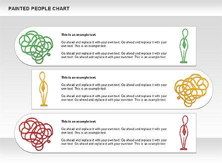 People Chat Shapes, Slide 9, 01139, Shapes — PoweredTemplate.com