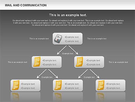 Document Workflow Diagram, Slide 13, 01140, Process Diagrams — PoweredTemplate.com