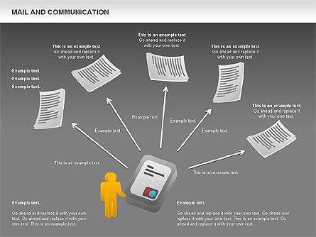 Document Workflow Diagram, Slide 16, 01140, Process Diagrams — PoweredTemplate.com