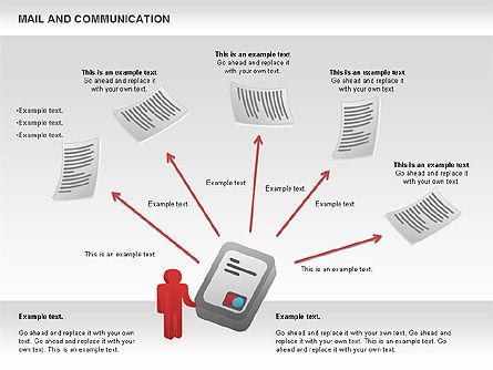 Document Workflow Diagram, Slide 5, 01140, Process Diagrams — PoweredTemplate.com