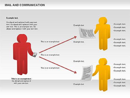 Document Workflow Diagram, Slide 6, 01140, Process Diagrams — PoweredTemplate.com