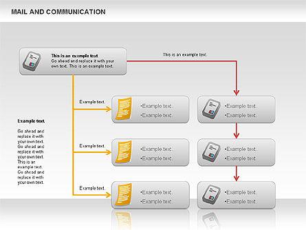 Document Workflow Diagram, Slide 7, 01140, Process Diagrams — PoweredTemplate.com