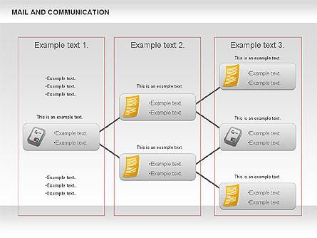 Document Workflow Diagram, Slide 9, 01140, Process Diagrams — PoweredTemplate.com