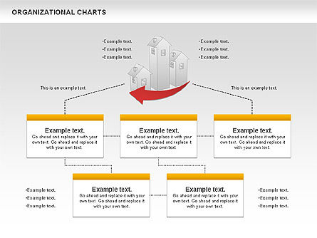 Organizational Charts: Real Estate Investment Diagram #01141