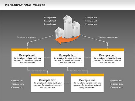 Real Estate Investment Diagram, Slide 12, 01141, Organizational Charts — PoweredTemplate.com