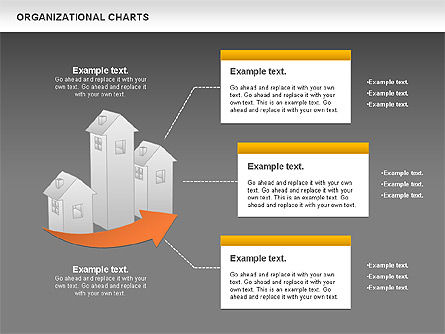 Real Estate Investment Diagram, Slide 13, 01141, Organizational Charts — PoweredTemplate.com