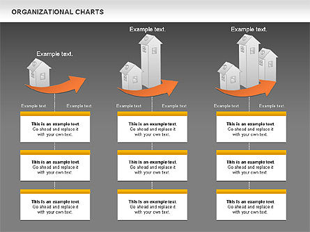 Real Estate Investment Diagram, Slide 14, 01141, Organizational Charts — PoweredTemplate.com