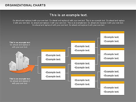 Real Estate Investment Diagram, Slide 15, 01141, Organizational Charts — PoweredTemplate.com