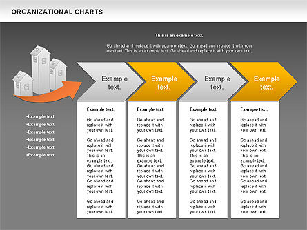 Real Estate Investment Diagram, Slide 16, 01141, Organizational Charts — PoweredTemplate.com