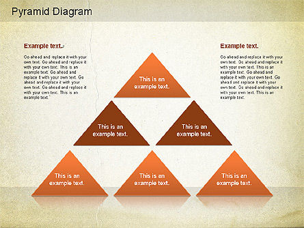 Layered Pyramid Diagram, Slide 10, 01143, Business Models — PoweredTemplate.com