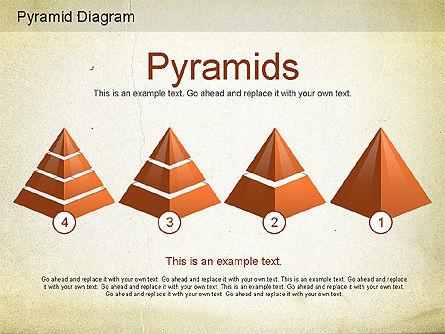 Layered Pyramid Diagram, Slide 11, 01143, Business Models — PoweredTemplate.com