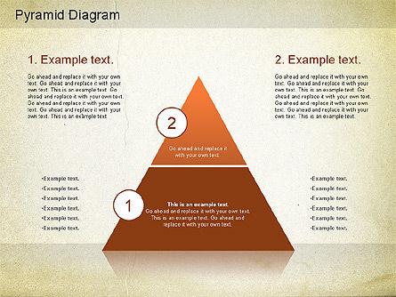 Layered Pyramid Diagram, Slide 2, 01143, Business Models — PoweredTemplate.com