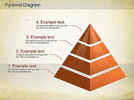 Layered Pyramid Diagram, Slide 3, 01143, Business Models — PoweredTemplate.com