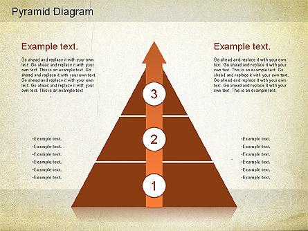 Layered Pyramid Diagram, Slide 4, 01143, Business Models — PoweredTemplate.com