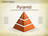 Business Models: Layered Pyramid Diagram #01143