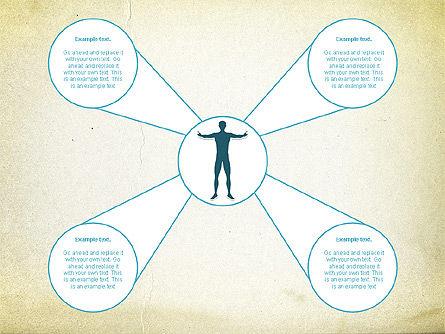 Business Report Shapes, Slide 3, 01145, Business Models — PoweredTemplate.com