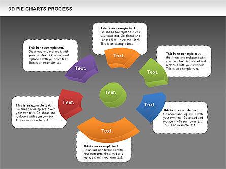 Donut Pie Chart, Slide 13, 01147, Pie Charts — PoweredTemplate.com