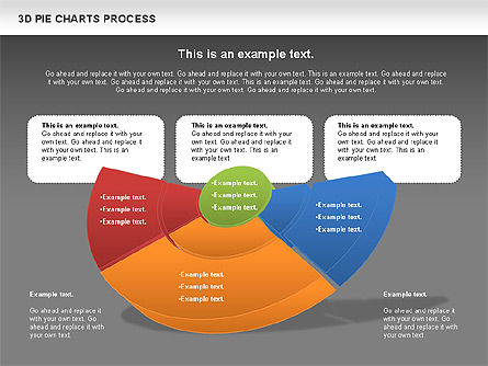 Donut Pie Chart, Slide 15, 01147, Pie Charts — PoweredTemplate.com