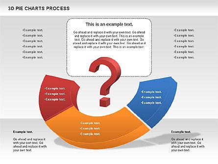 Donut Pie Chart, Slide 5, 01147, Pie Charts — PoweredTemplate.com