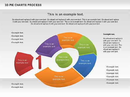 Donut Pie Chart, Slide 7, 01147, Pie Charts — PoweredTemplate.com