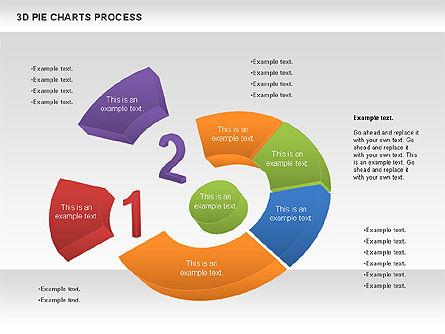 Donut Pie Chart, Slide 8, 01147, Pie Charts — PoweredTemplate.com