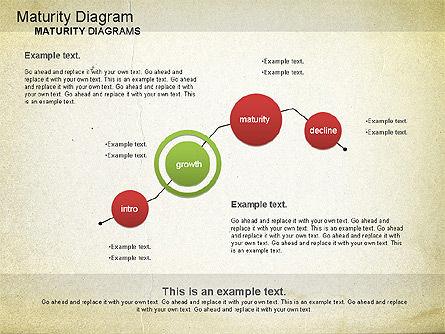 Maturity PowerPoint Diagram, Slide 11, 01148, Stage Diagrams — PoweredTemplate.com