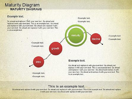 Maturity PowerPoint Diagram, Slide 12, 01148, Stage Diagrams — PoweredTemplate.com