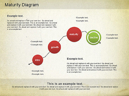 Maturity PowerPoint Diagram, Slide 13, 01148, Stage Diagrams — PoweredTemplate.com