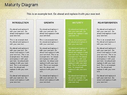 Maturity PowerPoint Diagram, Slide 16, 01148, Stage Diagrams — PoweredTemplate.com
