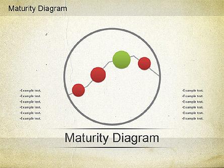 Maturity PowerPoint Diagram, Slide 6, 01148, Stage Diagrams — PoweredTemplate.com