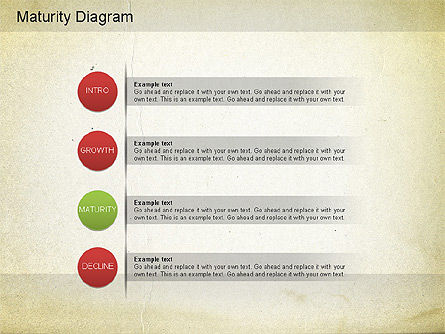 Maturity PowerPoint Diagram, Slide 9, 01148, Stage Diagrams — PoweredTemplate.com