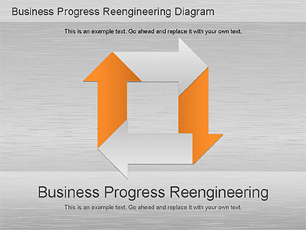 Process Diagrams: Business Process Reengineering Diagram #01153