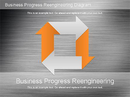 Business Process Reengineering Diagram Slide 12