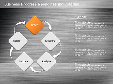 Business Process Reengineering Diagram Slide 16