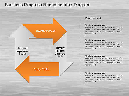 Business Process Reengineering Diagram Slide 3
