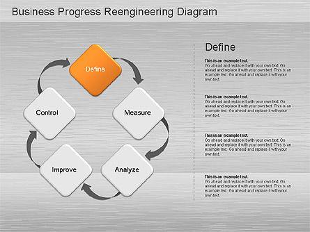 Business Process Reengineering Diagram Slide 5