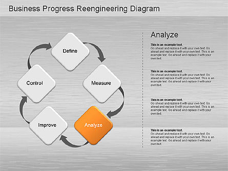 Business Process Reengineering Diagram Slide 7