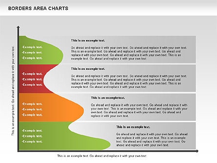 Line Area Chart, Slide 10, 01155, Business Models — PoweredTemplate.com