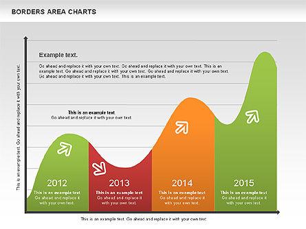 Line Area Chart, Slide 11, 01155, Business Models — PoweredTemplate.com
